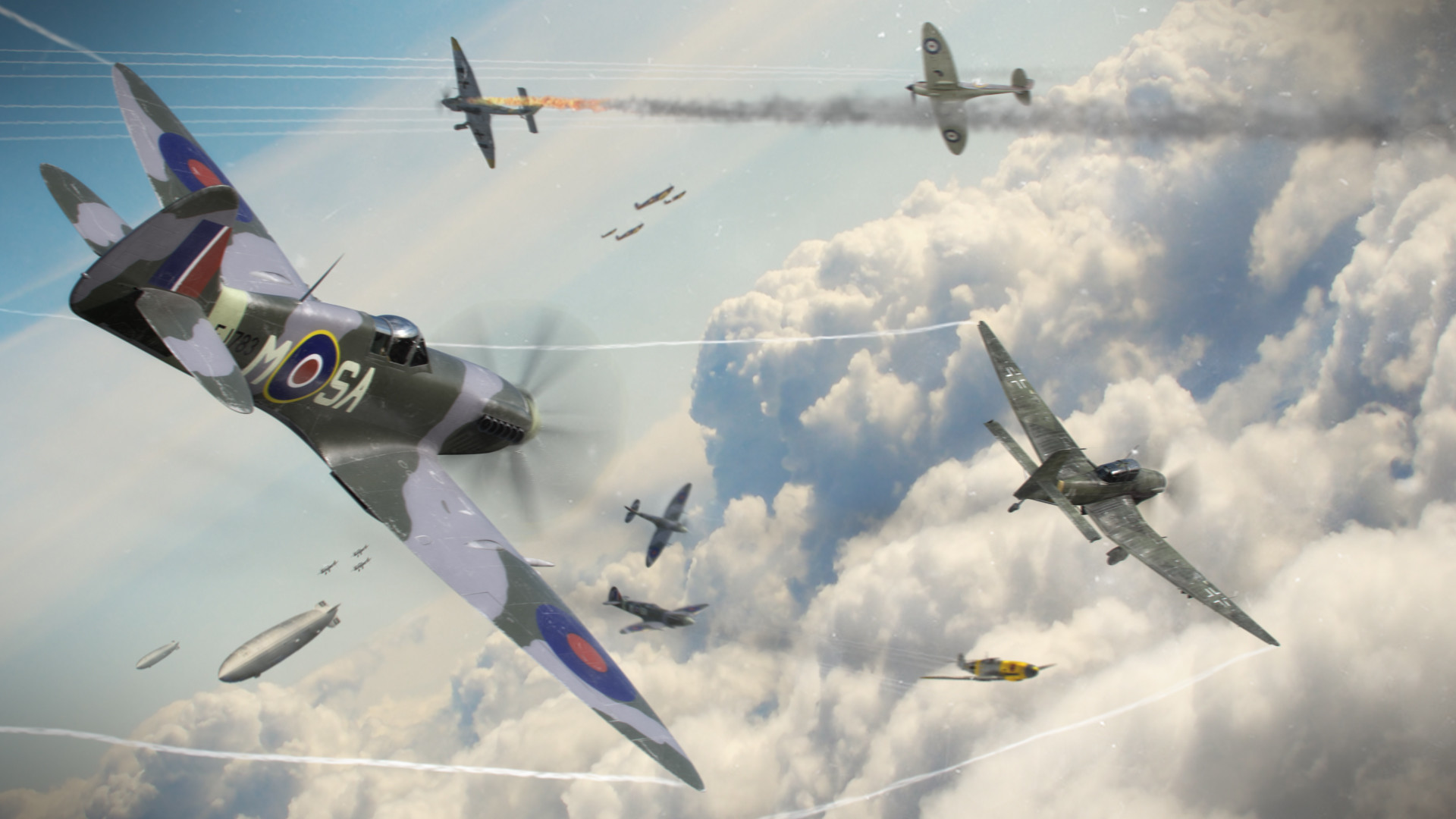 List Of Synonyms And Antonyms Of The Word Spitfire Dogfight