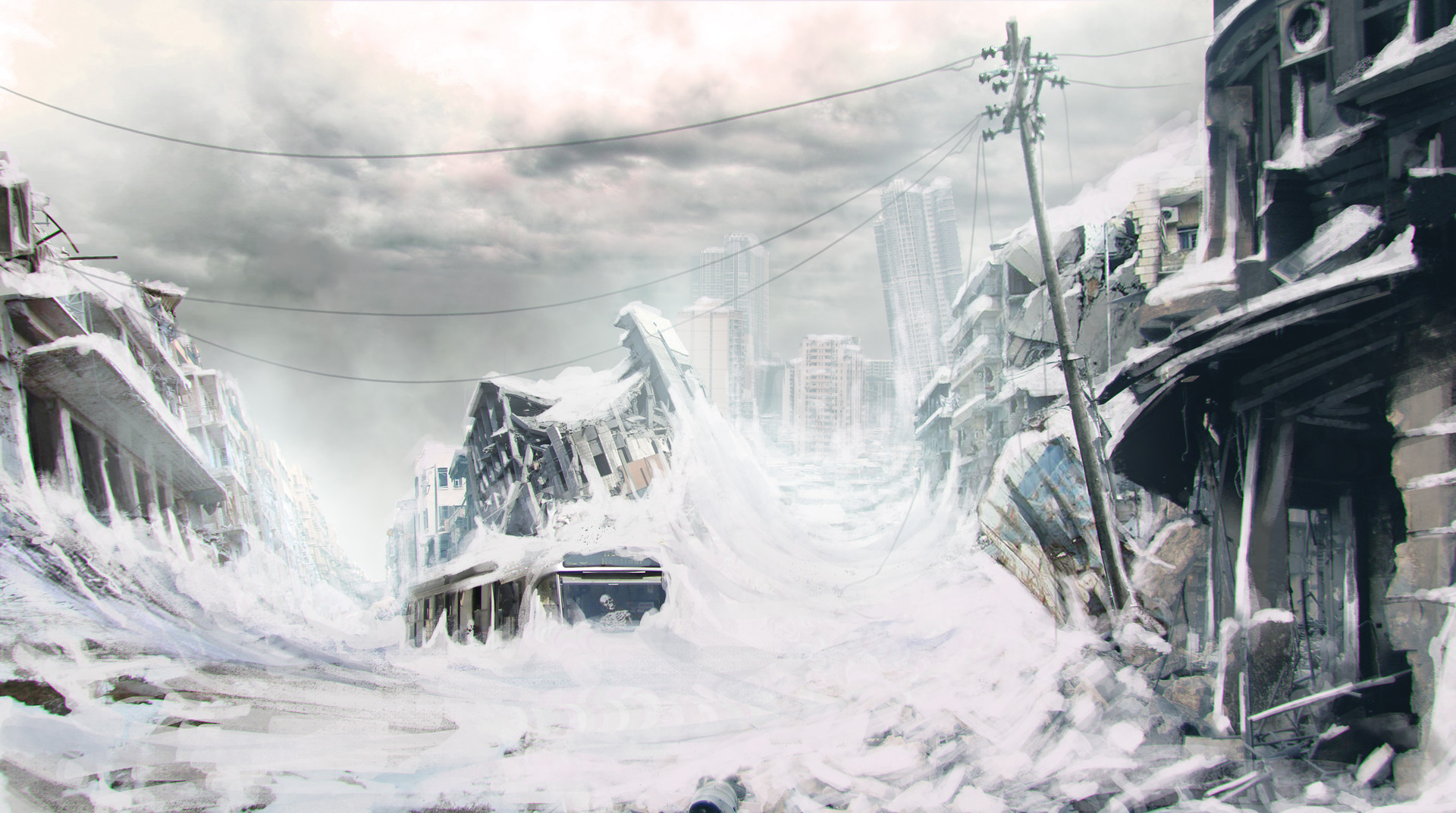 Ядерная зима фото