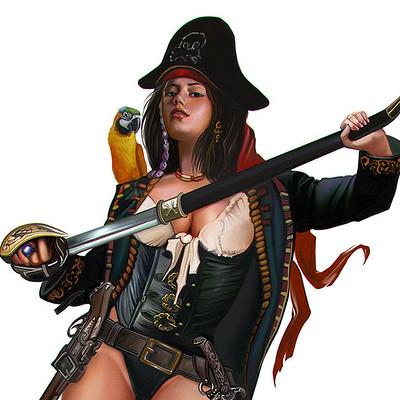 Luis tomas redondo pirate girl