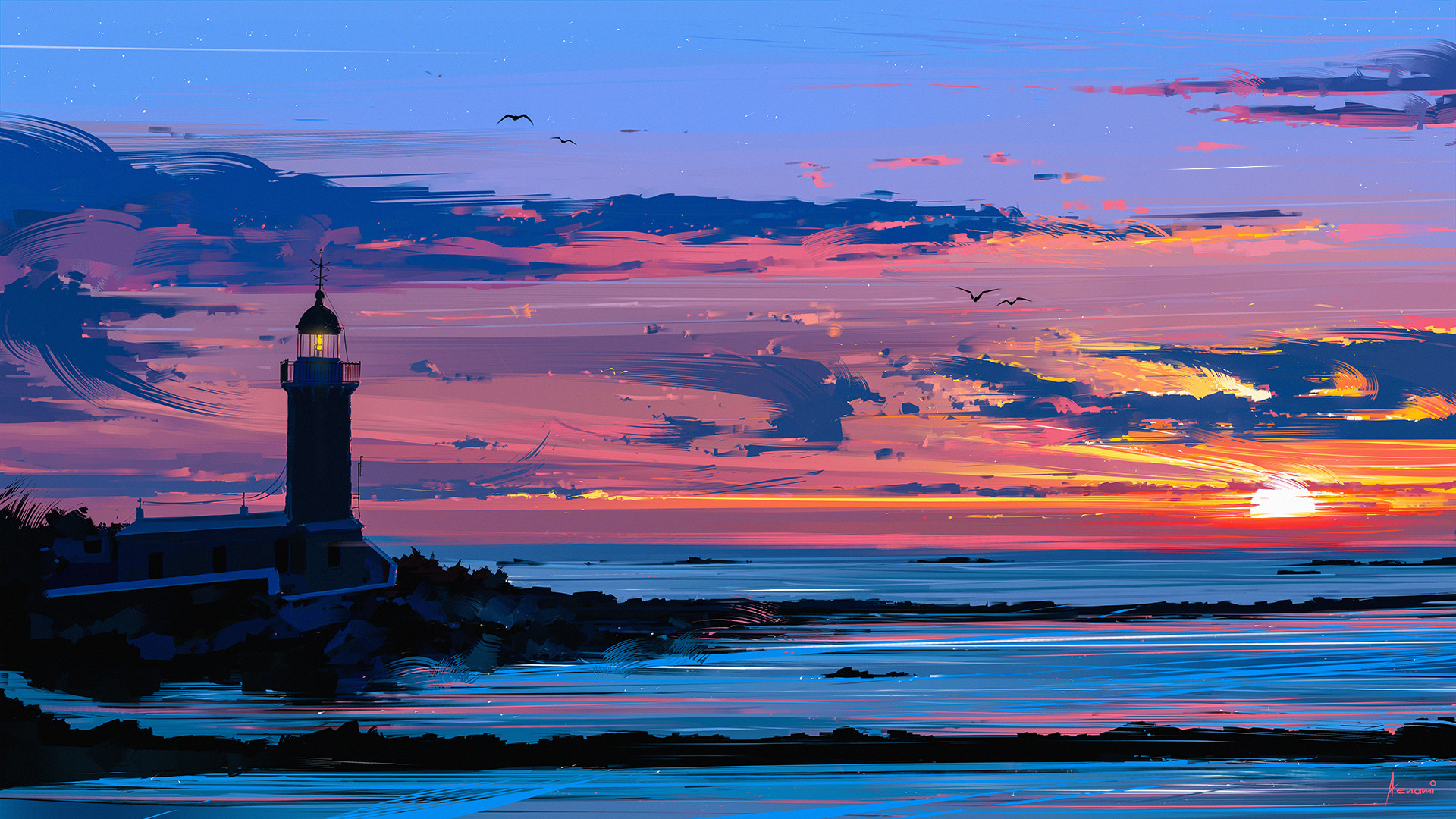 Alena aenami lighthouse1k