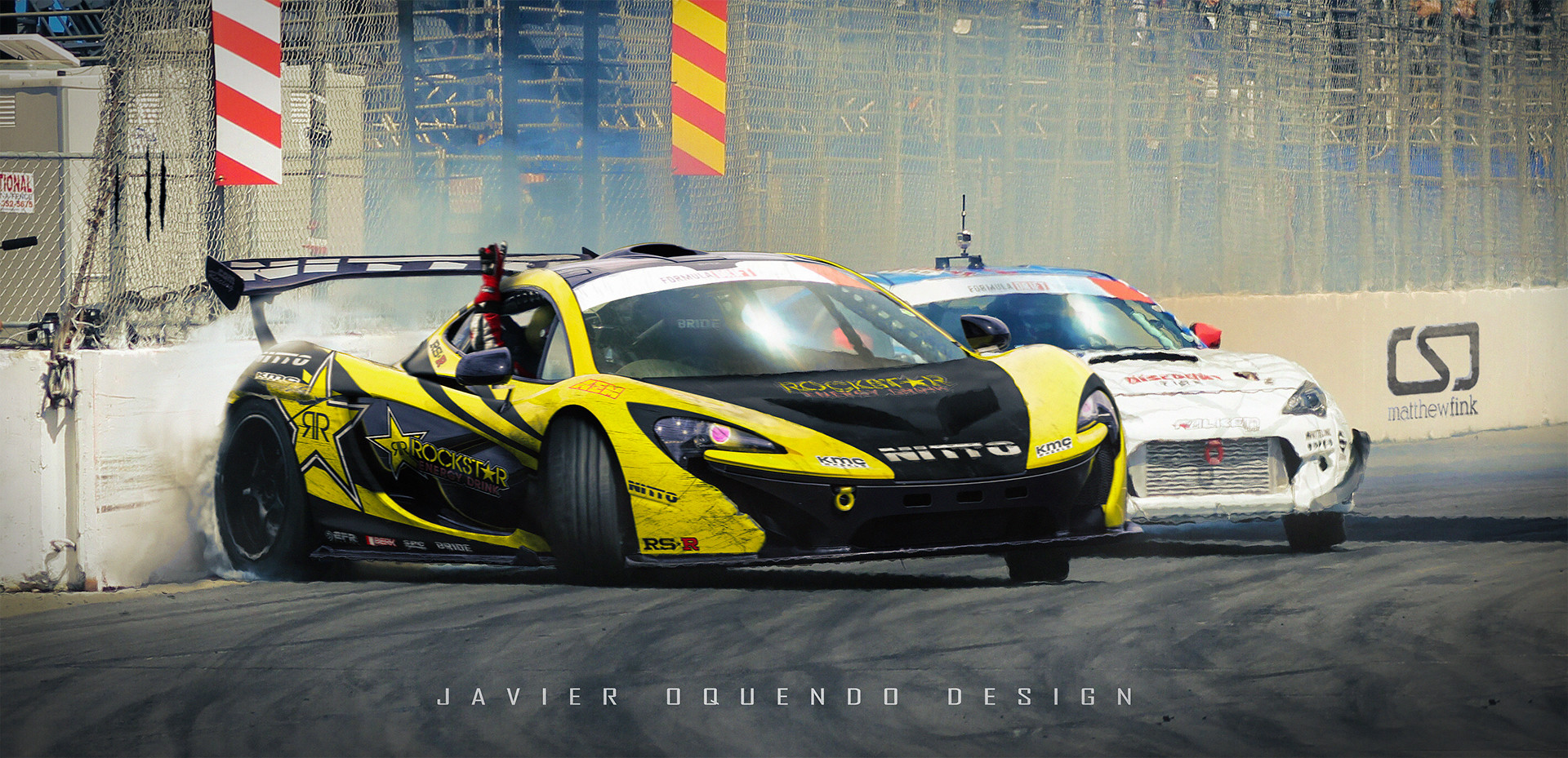 Javier Oquendo The Holy Trinity Of Drift Cars