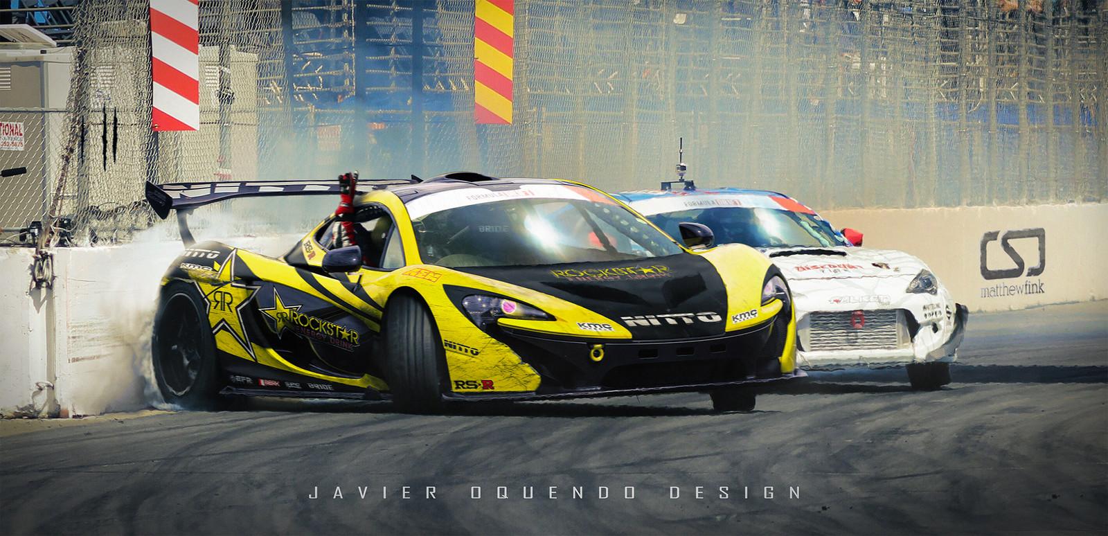 McLaren P1 Drift Car