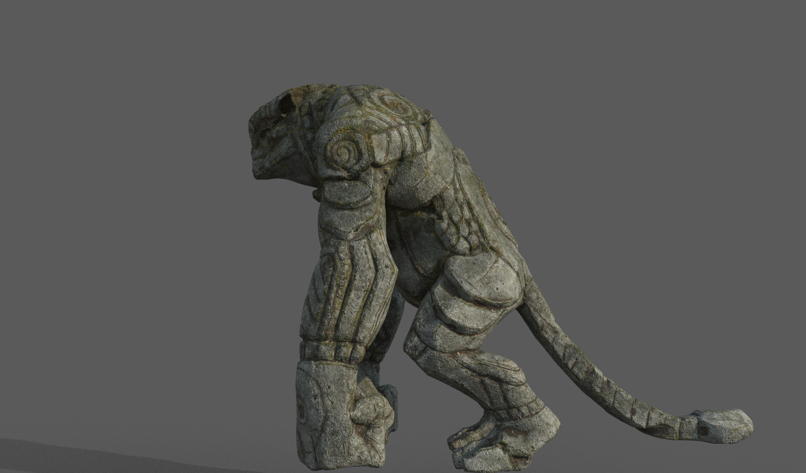Darko mitev beast statue v1