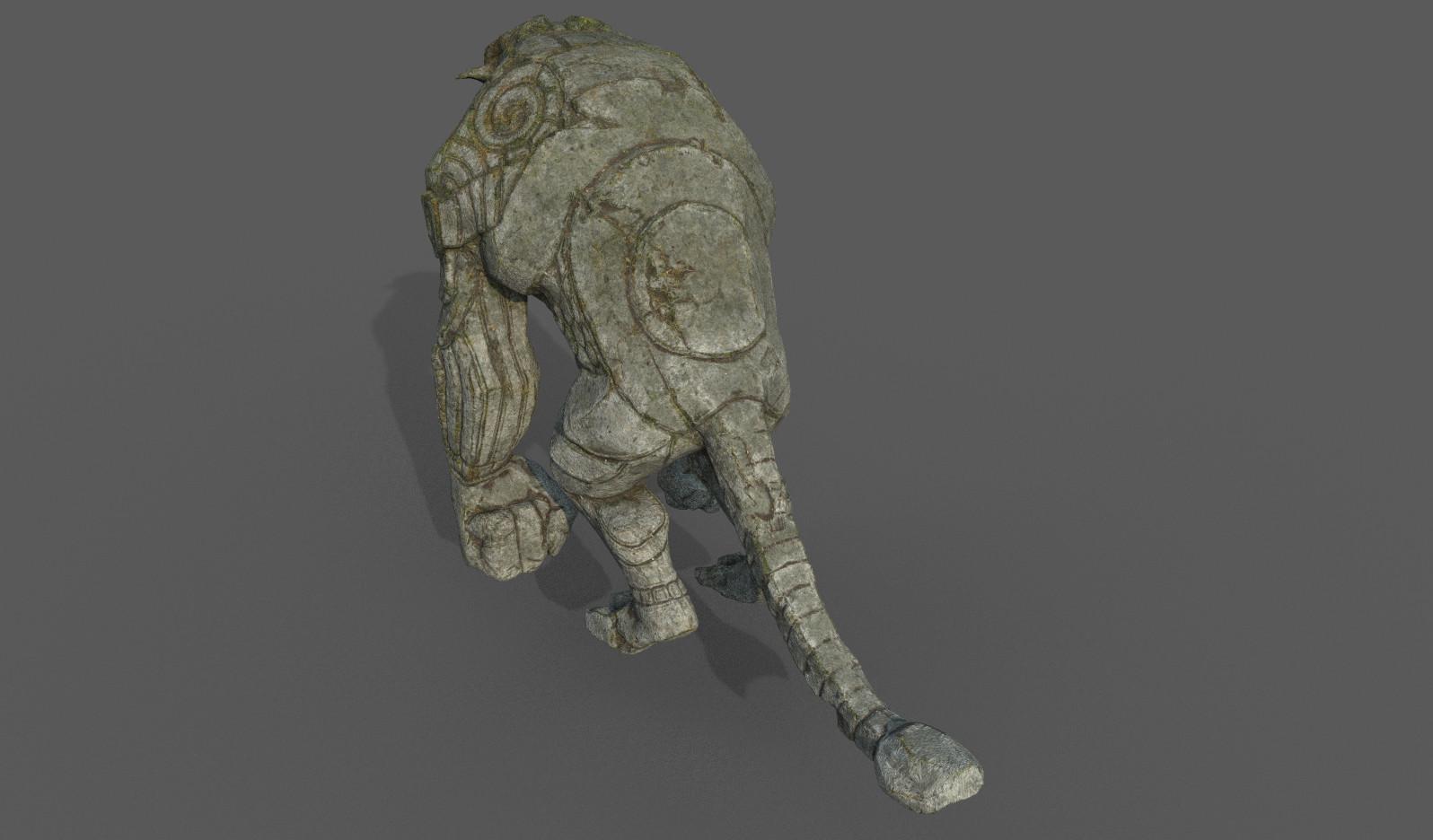 Darko mitev beast statuev1 03