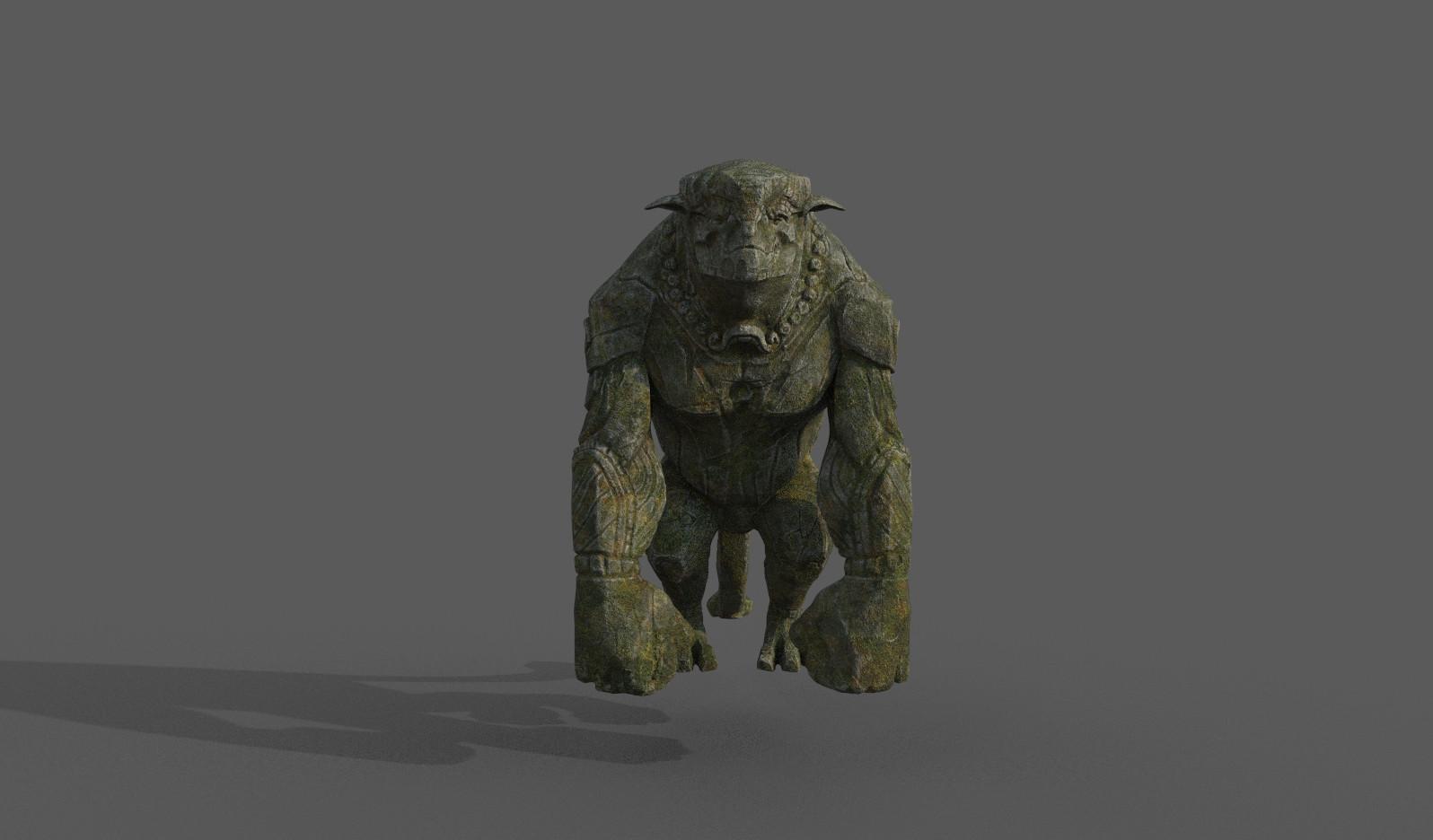 Darko mitev beast statuev2 02