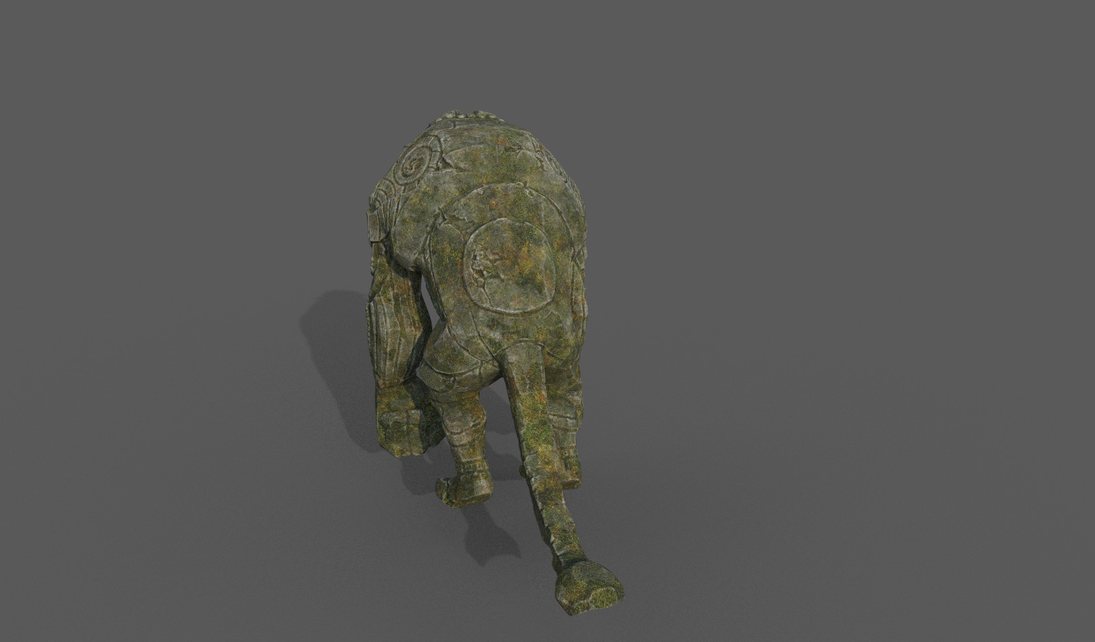 Darko mitev beast statuev2 03