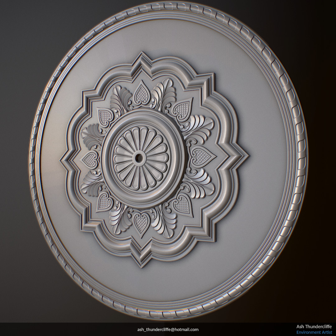 Ash thundercliffe ceiling rose 02