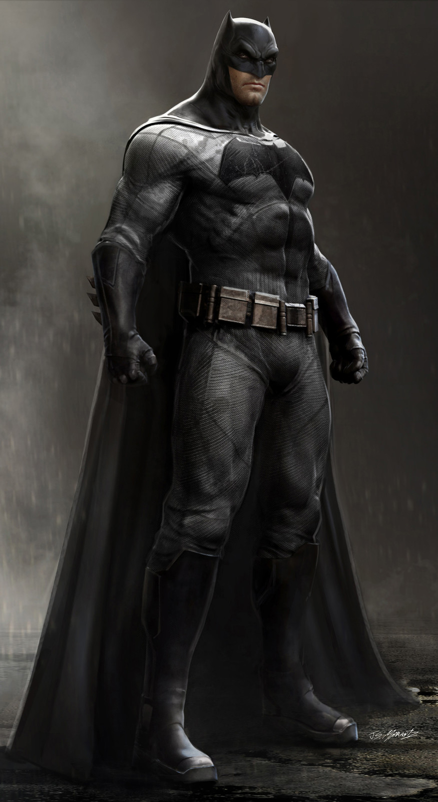Batman vs. Superman: Batman Concept Art