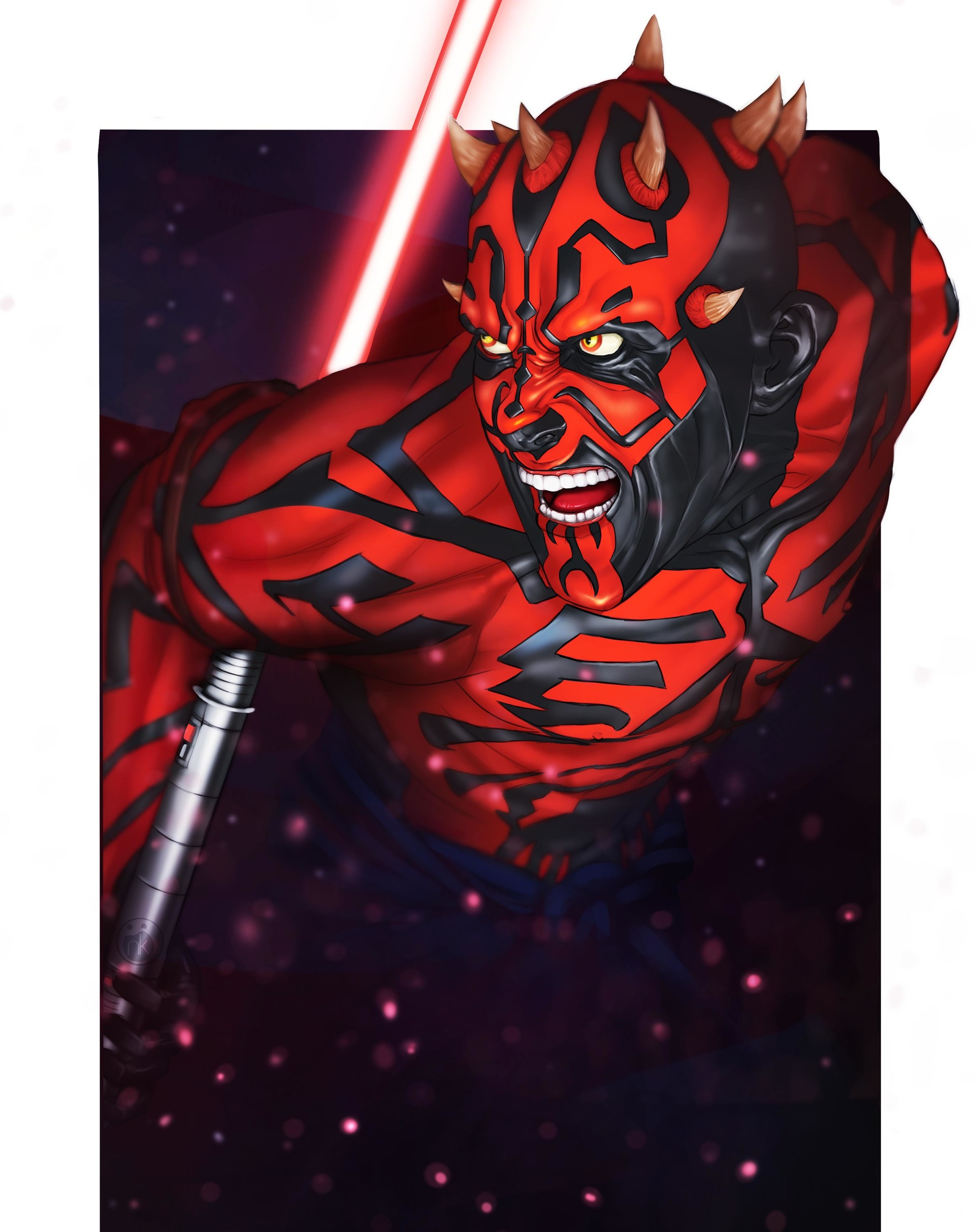 Kai ussin darth maul 9 5x12