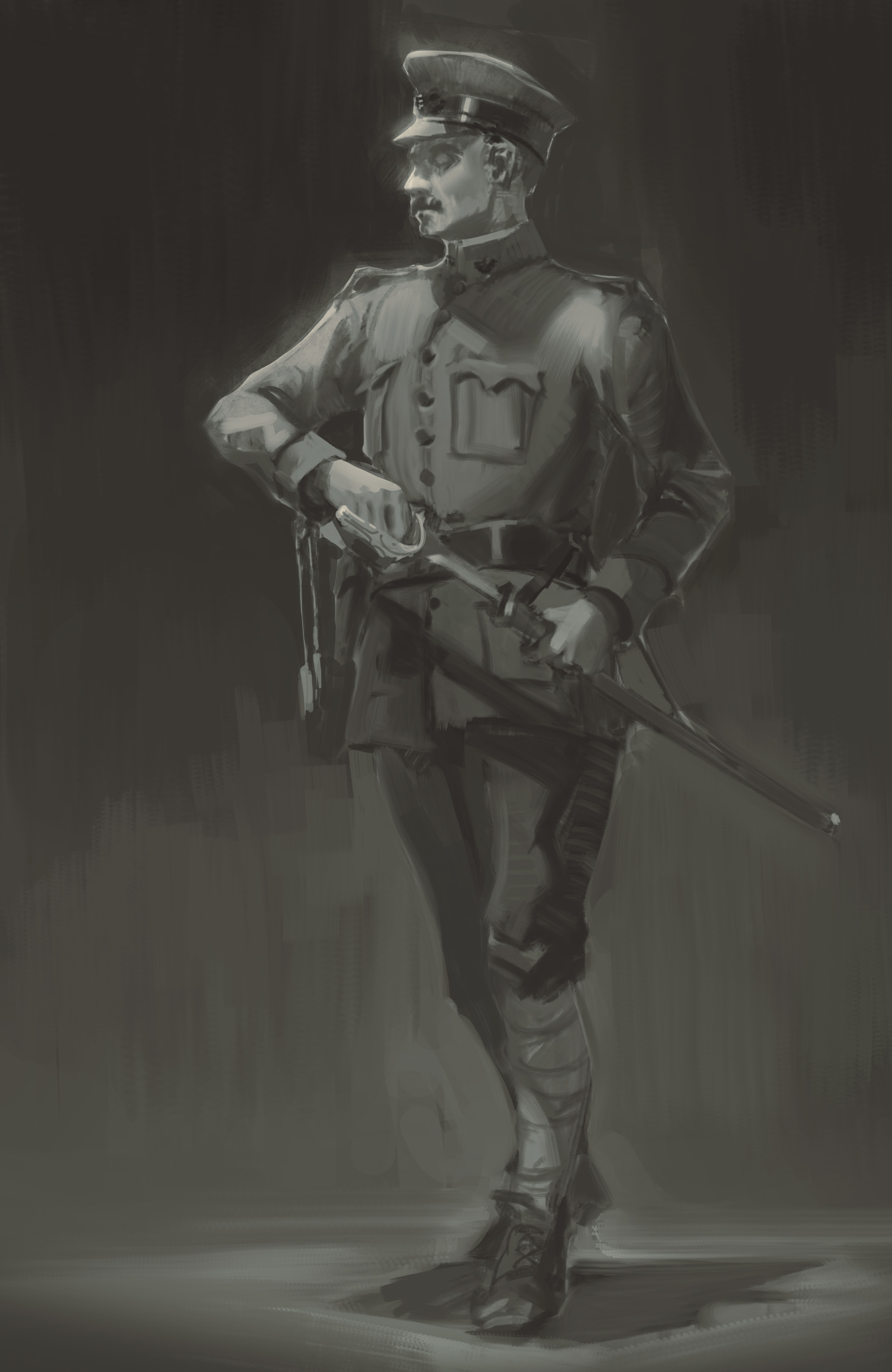 Nick gindraux ww1 american officer1 7