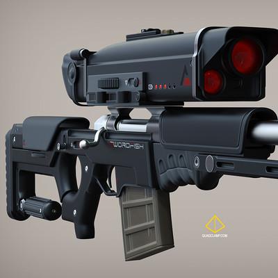 Jordan moss swordfish gun 3quarter