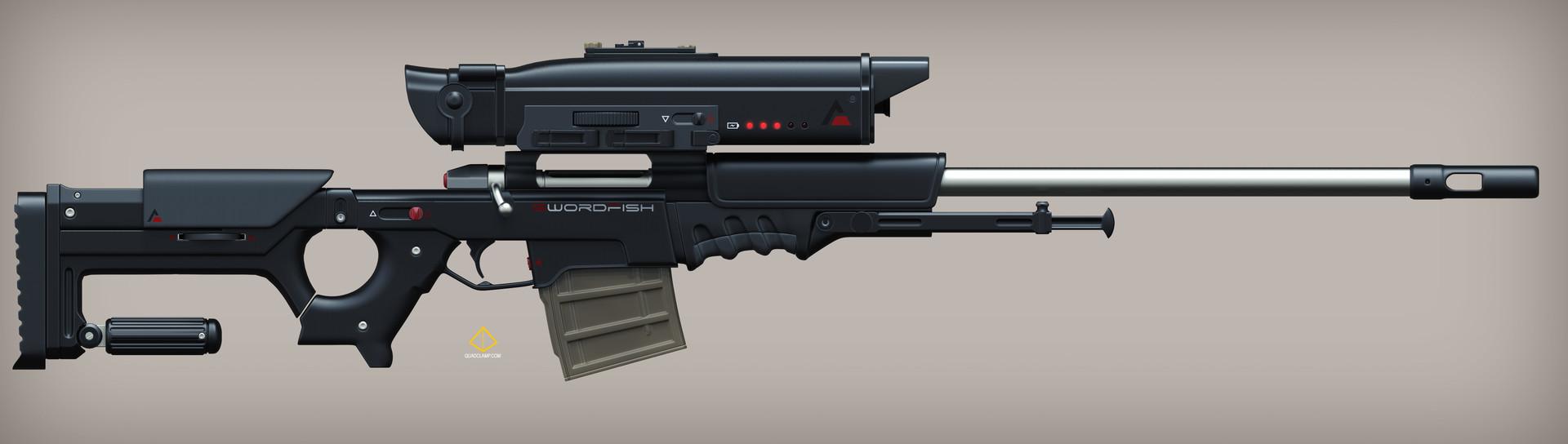 Jordan moss swordfish gun long