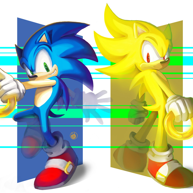 Sonic and super sonic
