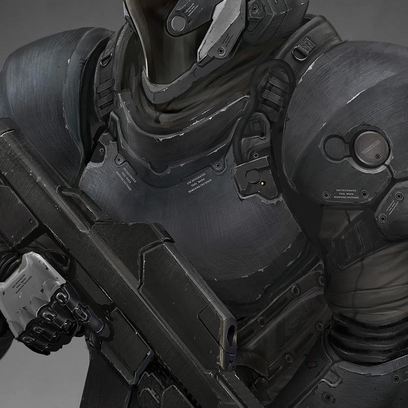 KOJIMA PRODUCTIONS LUDENS - Palladin Armor Ver  (PALLD)