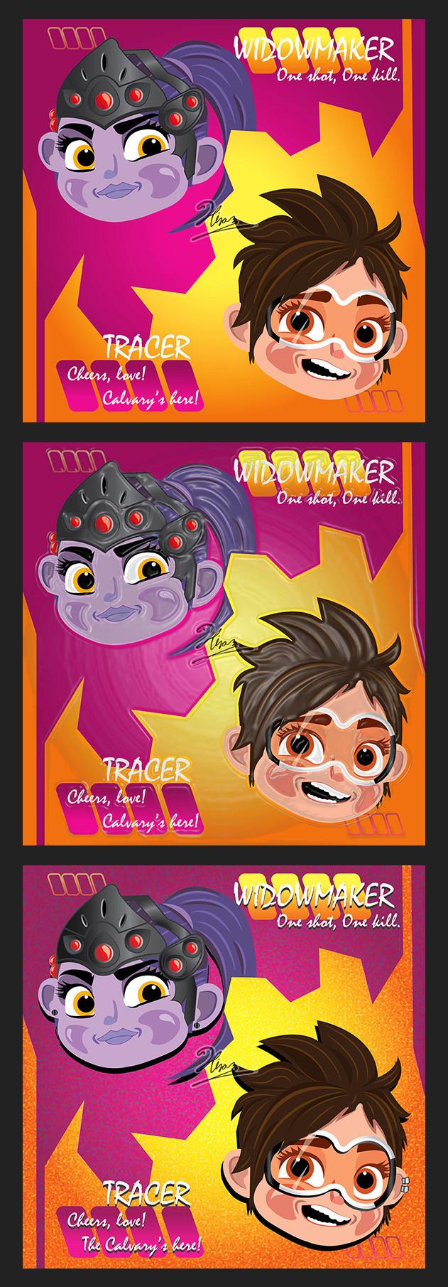 Hiram Luna Tracer And Widowmaker