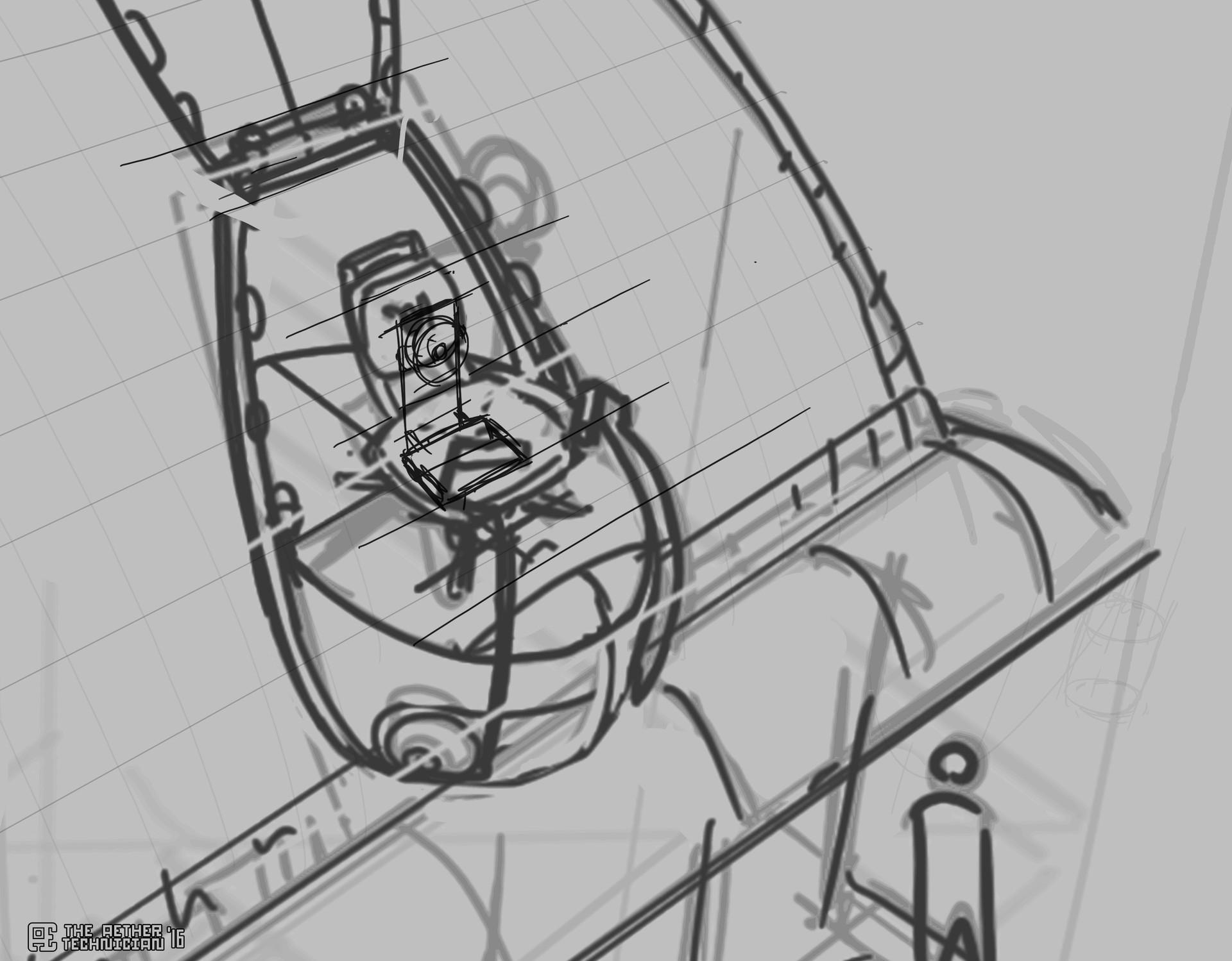 Samuel herb spiceboat close sketch