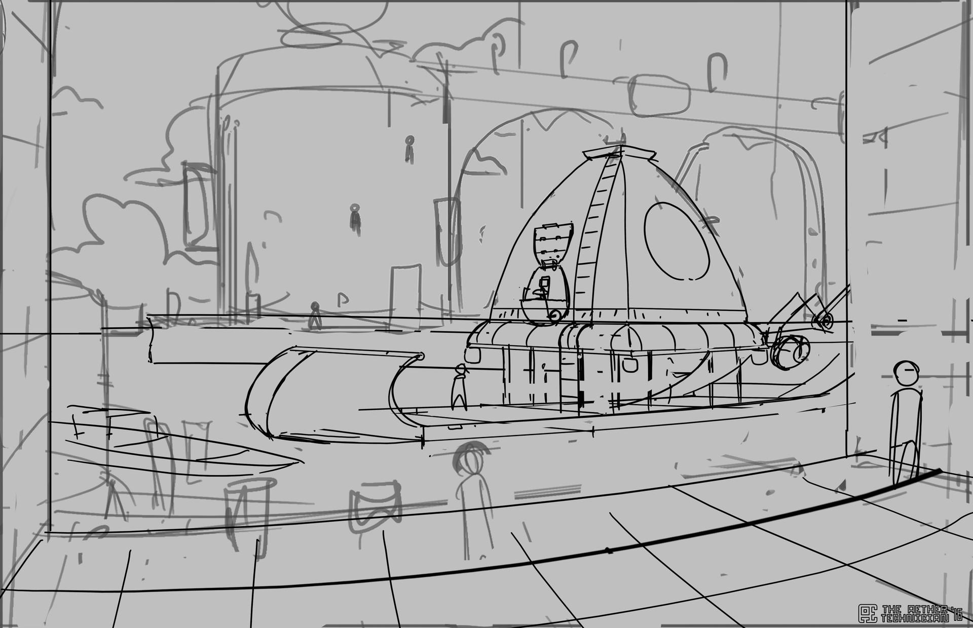Samuel herb spiceboat mid sketch