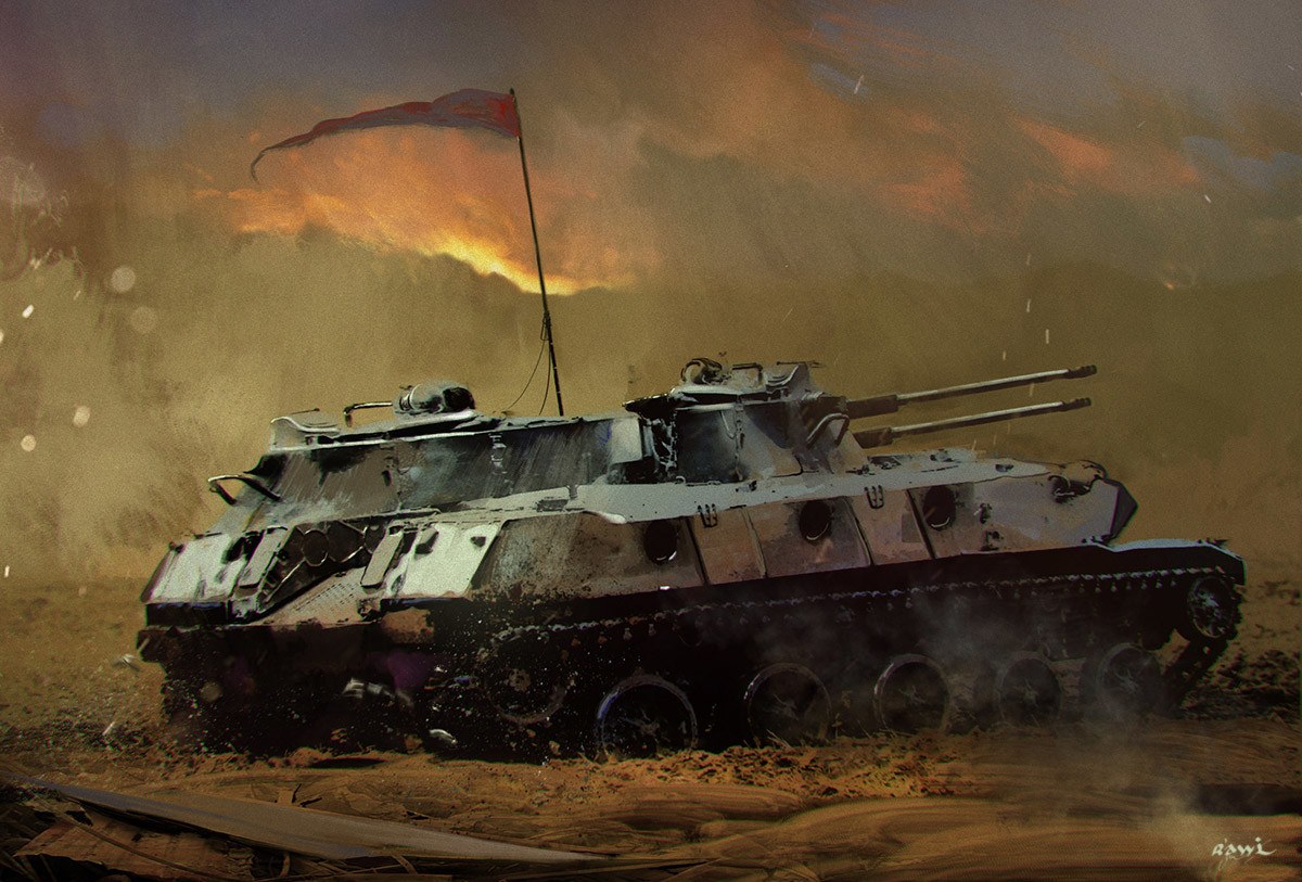 Ahmed rawi tank 5