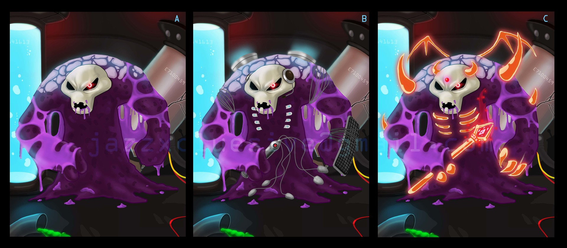 Jazz siy gameshed creature test
