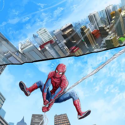 Wissam k spiderman page 1