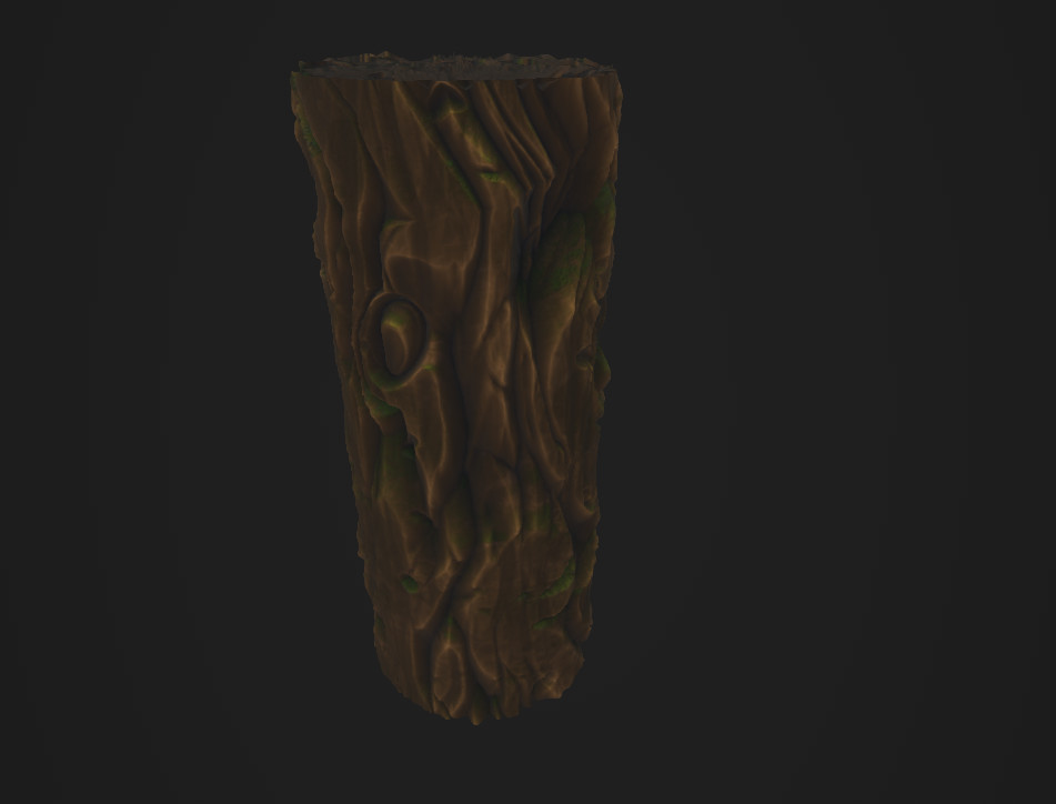 Stylized Wood Material