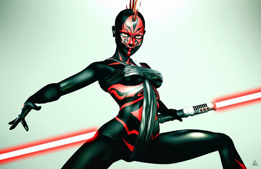 Andre arruda sith girl