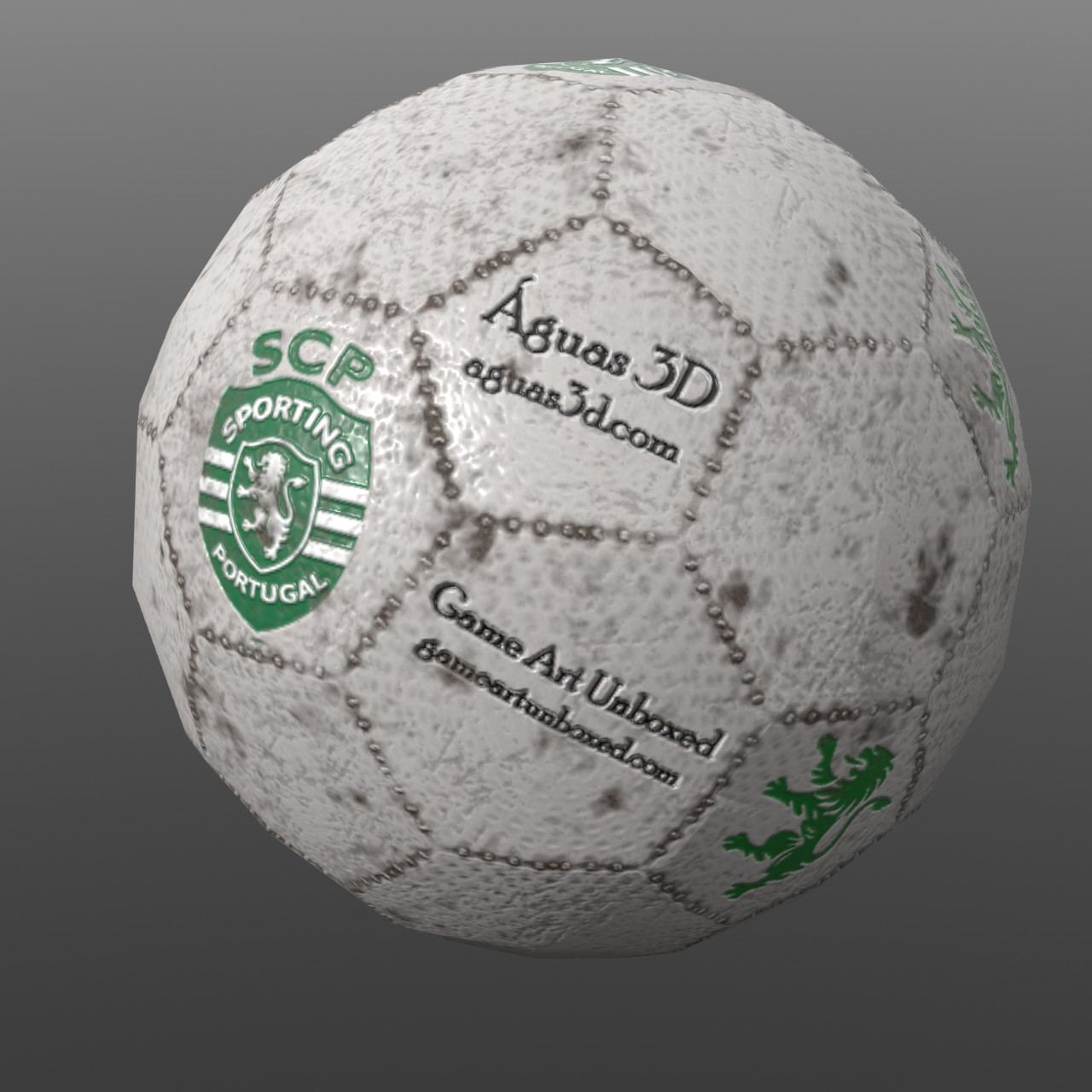 Soccer Ball - Practice from GameArtUnboxed