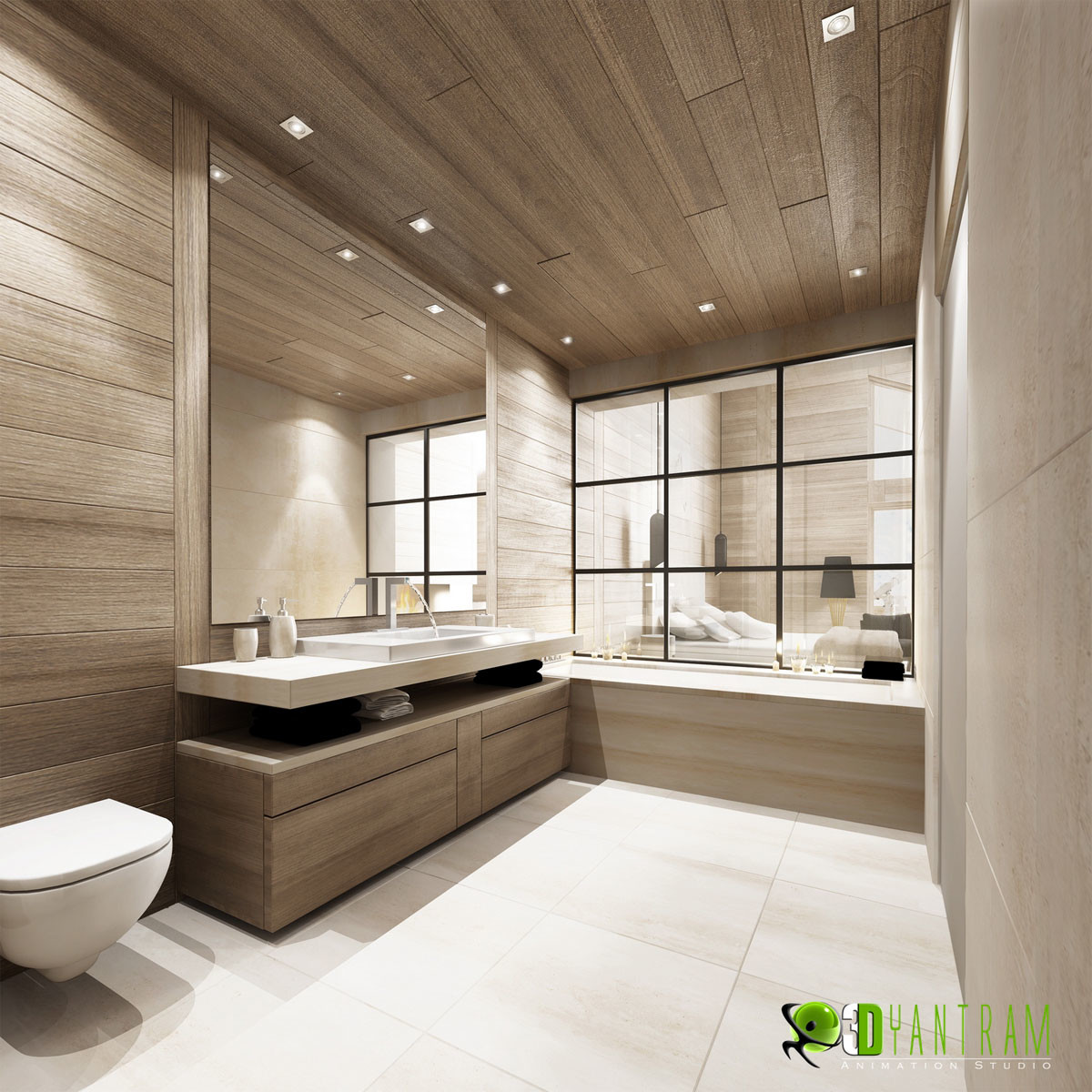 Design a bathroom 3d - Bathroom Design Yantram Studio Residential 3d Interior Cgi Bathrrom San Fancisco