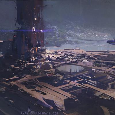 Ayan nag dark tower by ayan nag