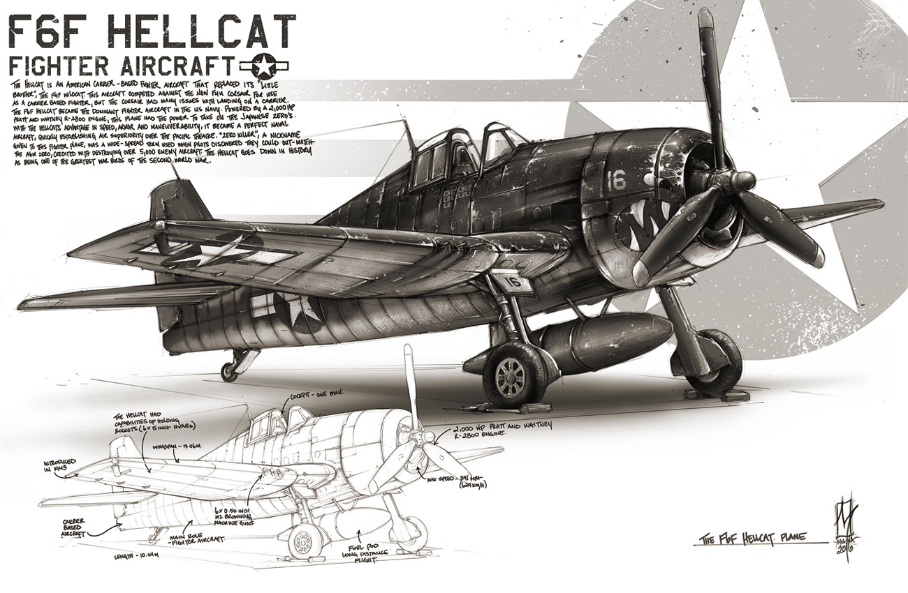 F6F Hellcat - War Bird Series