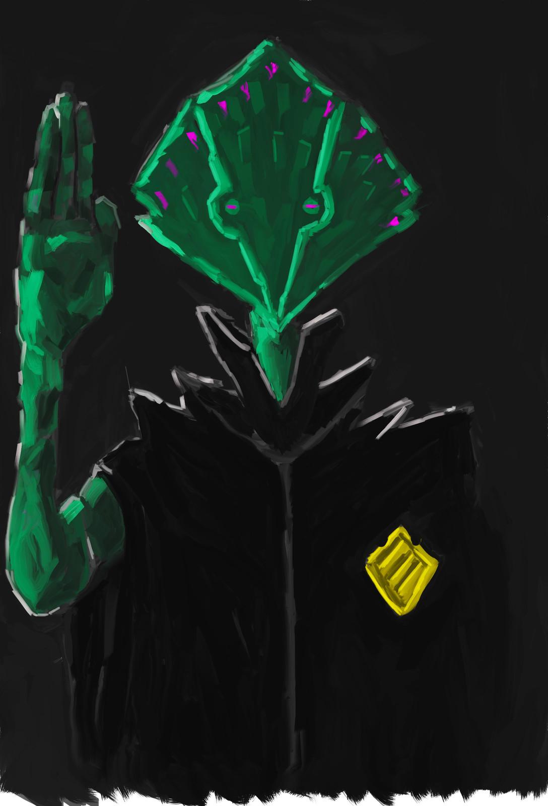 Police Alien Psychic