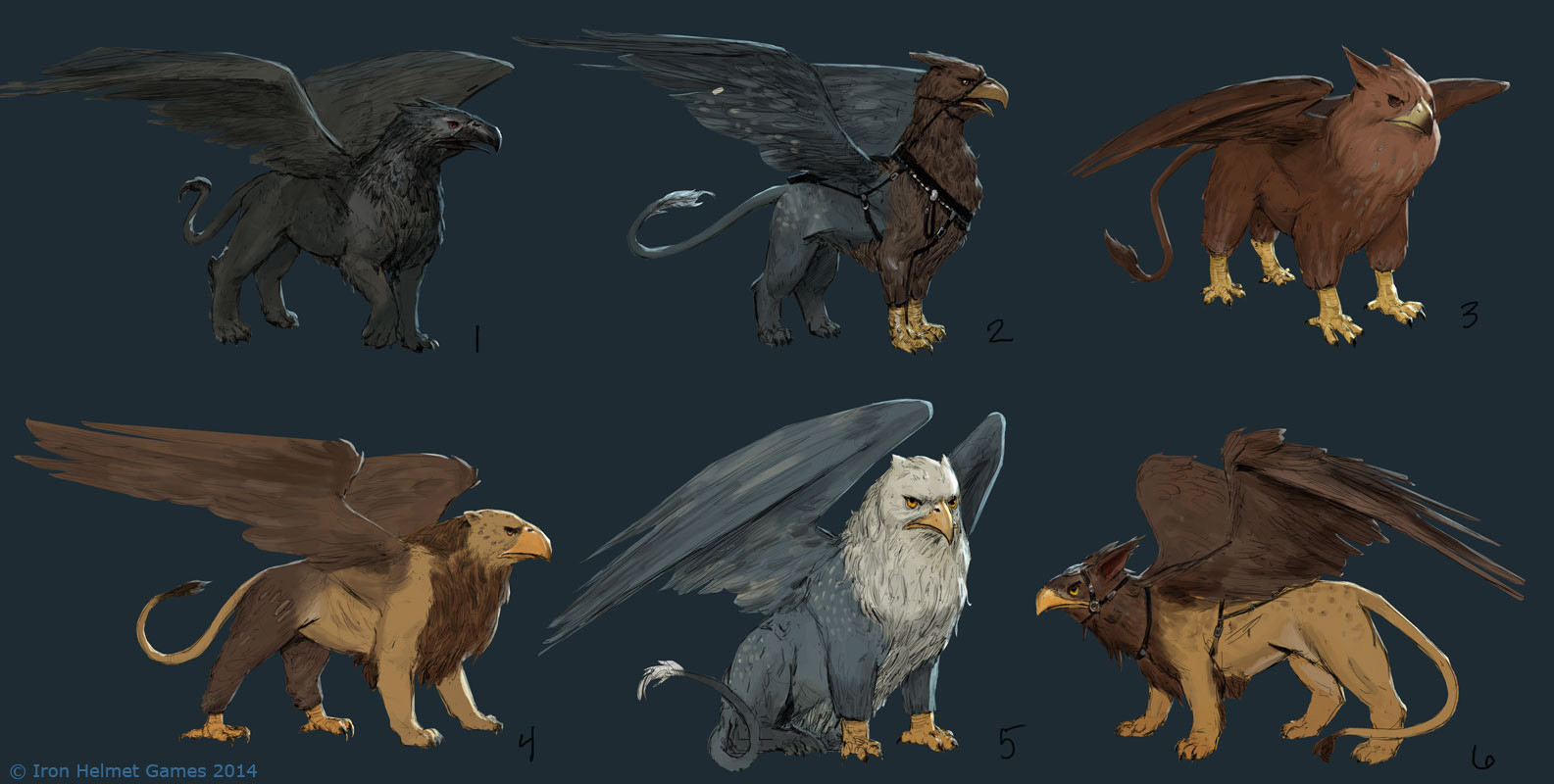 Devin platts gryphon for The griffin