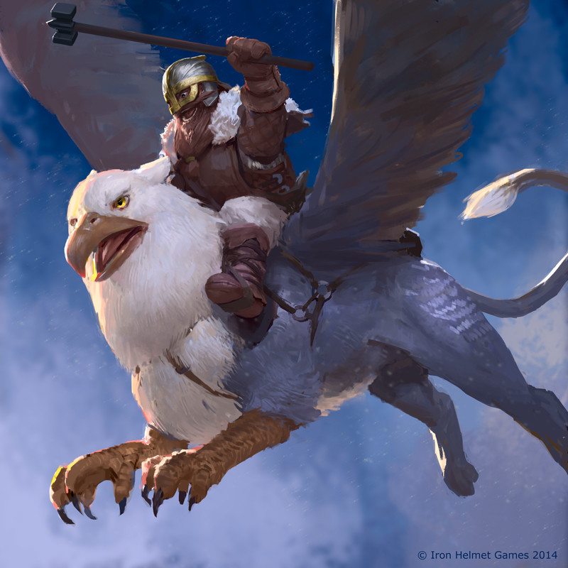 Dwarf Gryphon Rider