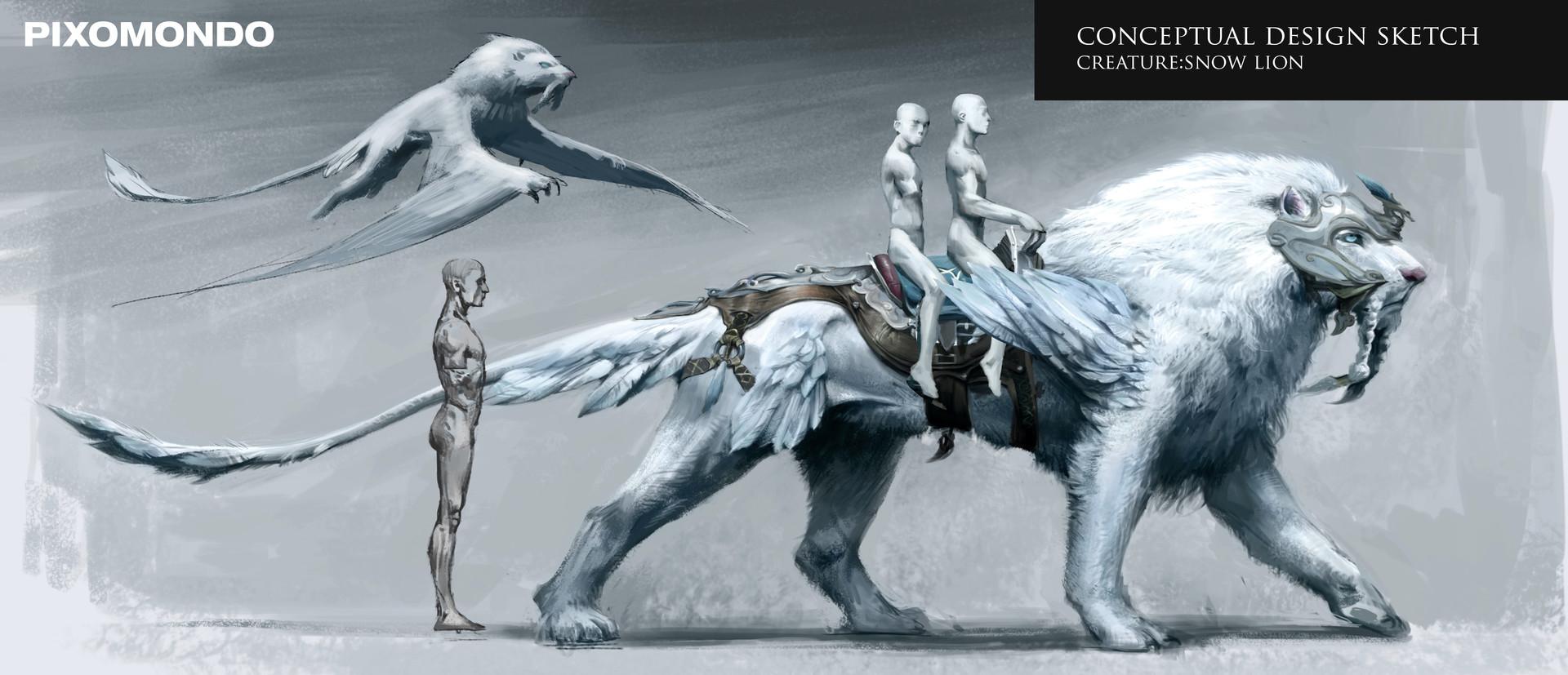 Mythical Large Dog