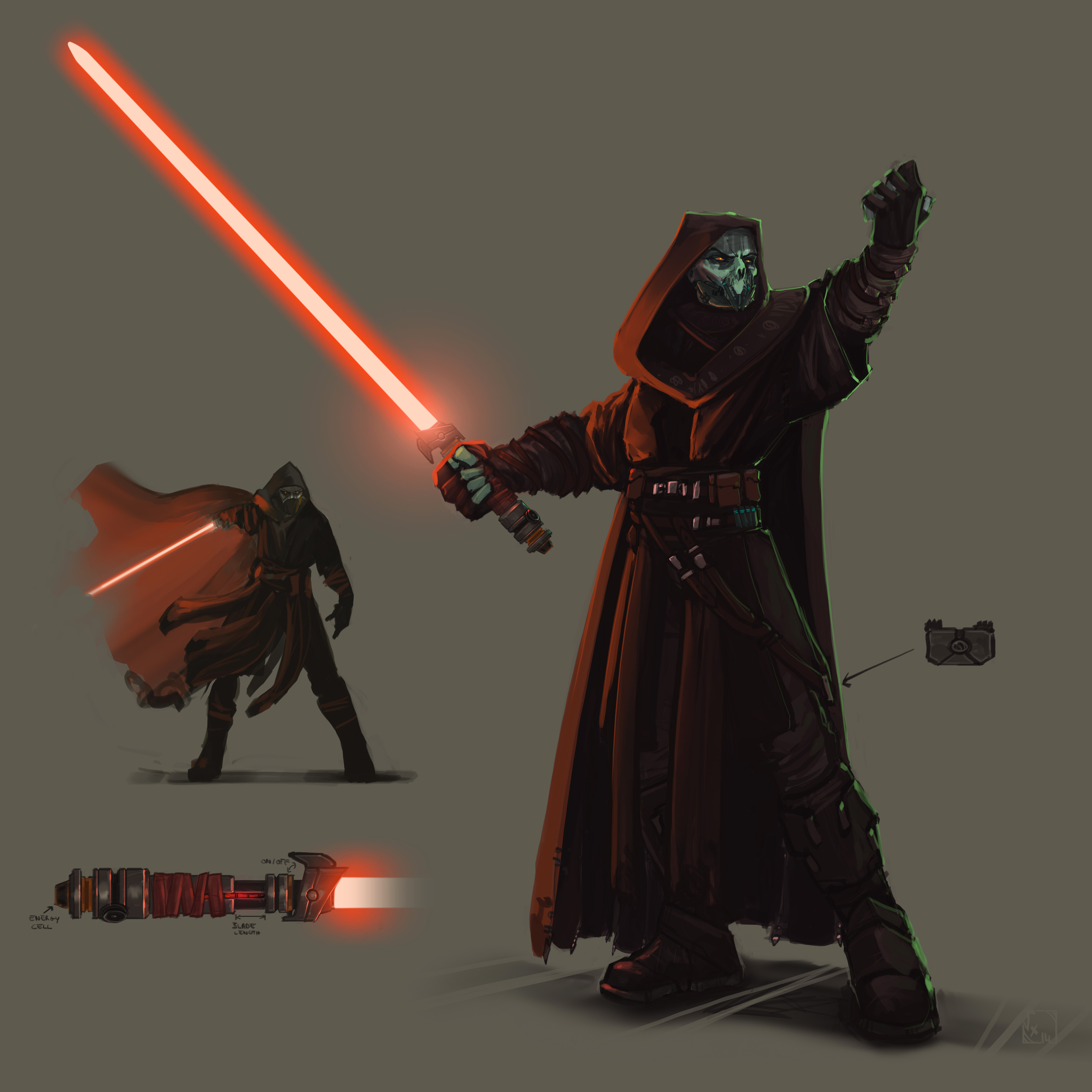 Nemesis of Mevenn, maybe not really a sith as there's only two of them