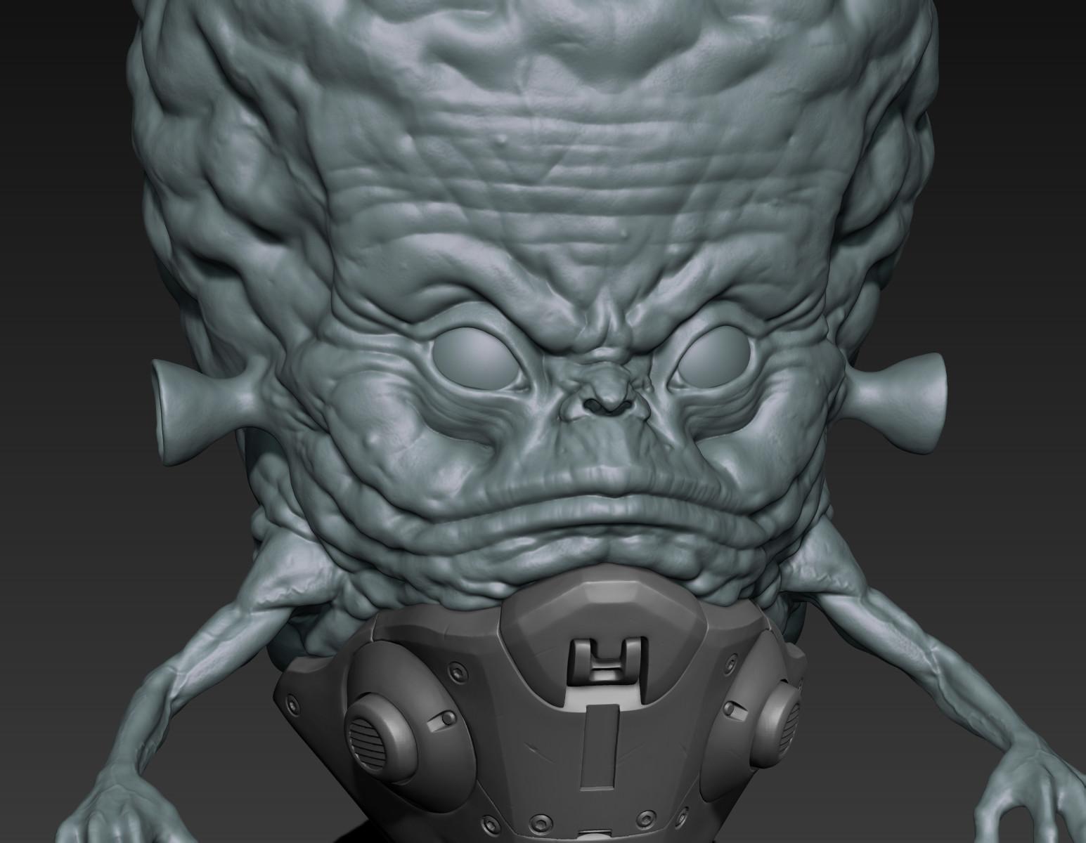 Toby hynes pulp alien closeup 01