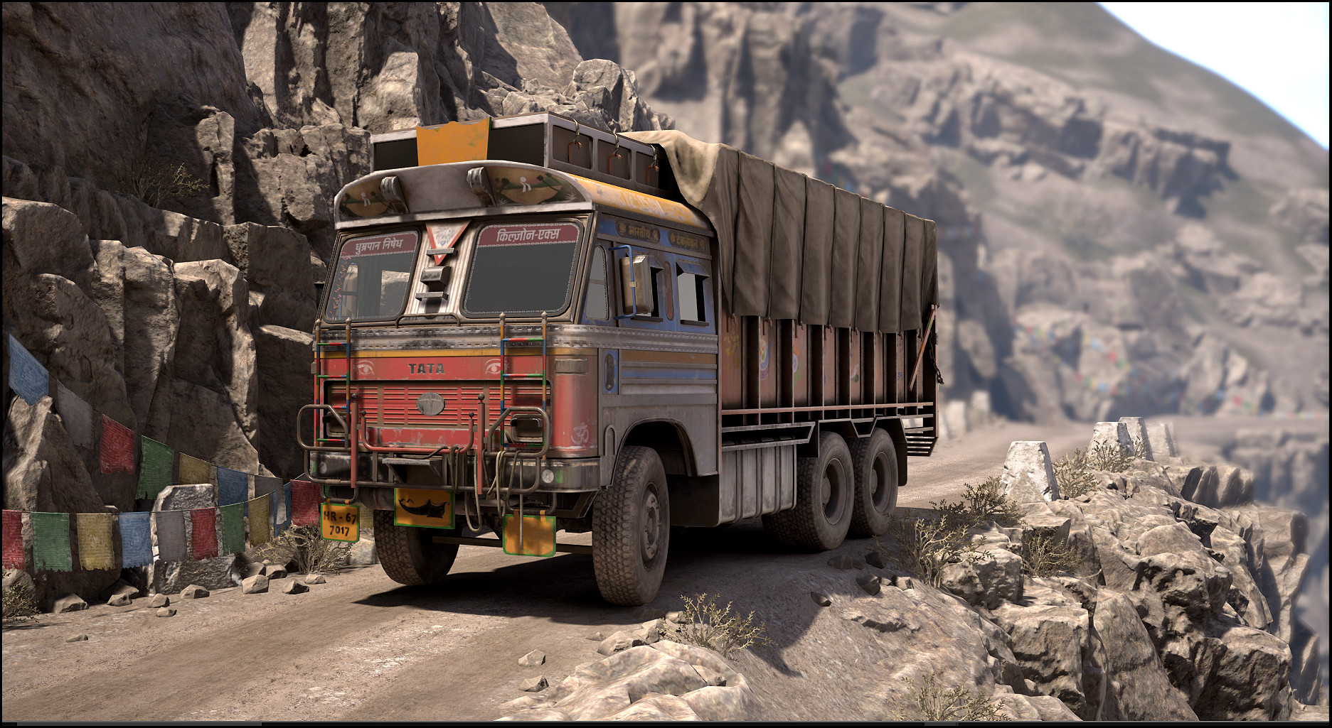 Adam Jarvis The Indian Truck