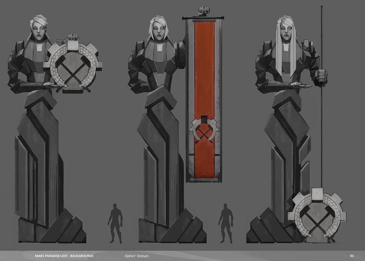 Alexandre chaudret mpl backgrounds statues02