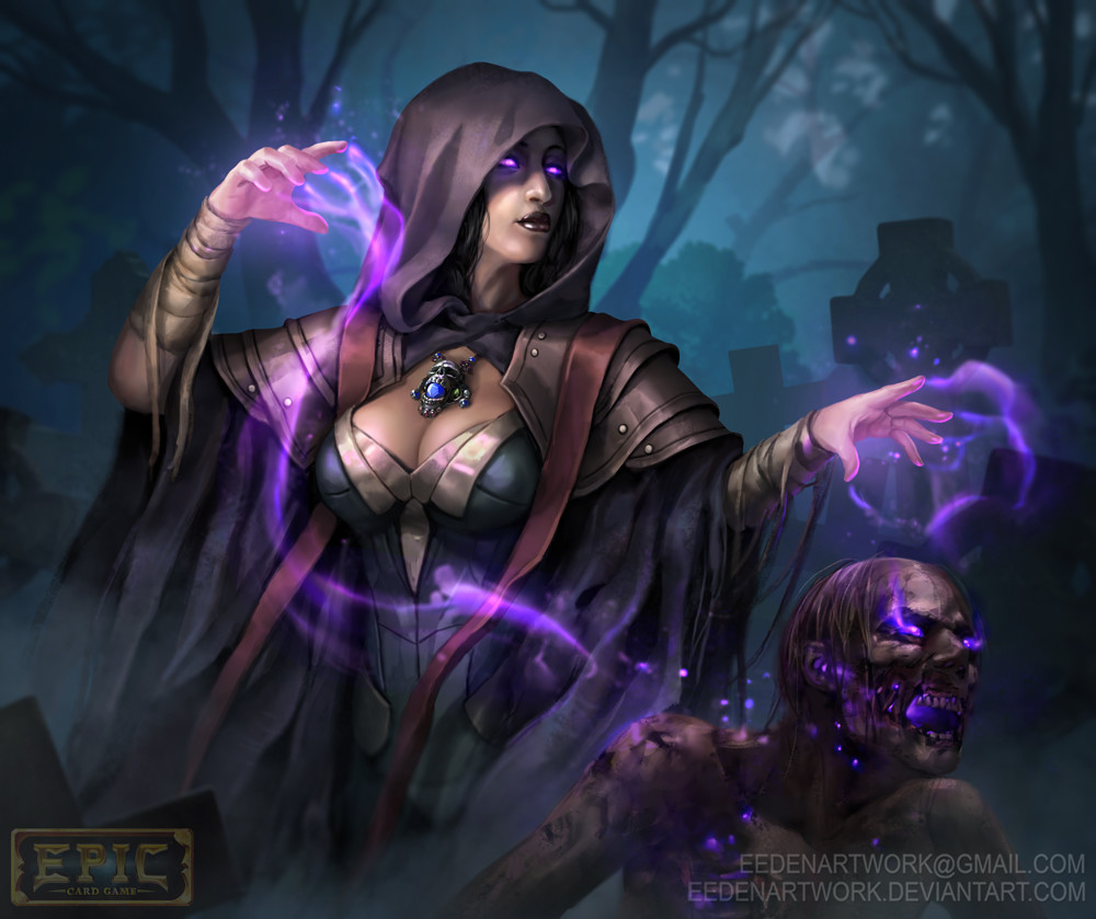 Lady in torchlight - 4 1
