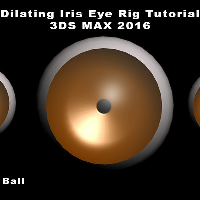 James ball dilating iris eye rig tutorial 3ds max 2016 by james ball