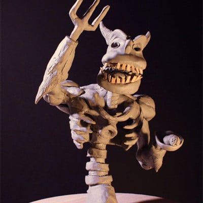 Rob mcdaniel 3dclay demon glut