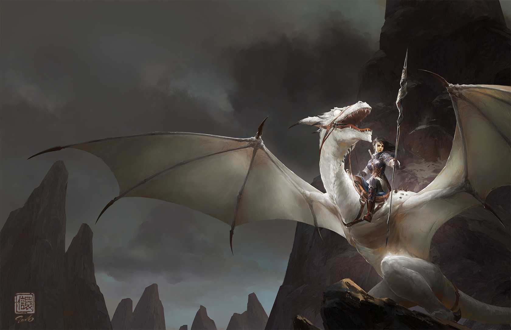 Kan liu 666k blind dragon