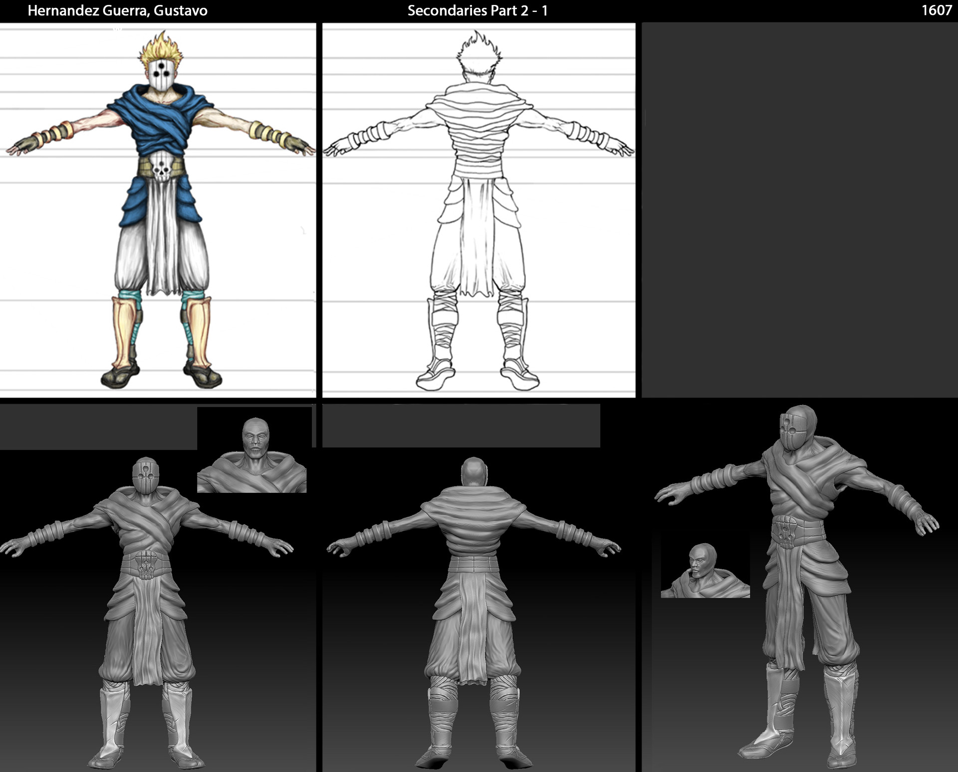 Character Design Courses University : Artstation character design and creation modeling full sail
