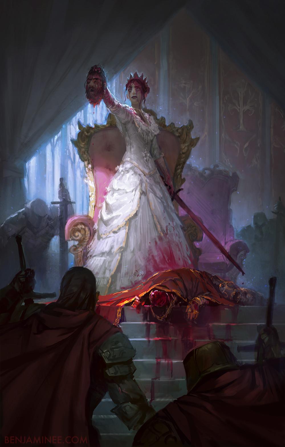 Benjamin ee the murder queen illus final2