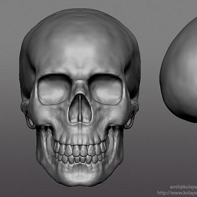 Amit kolay skull