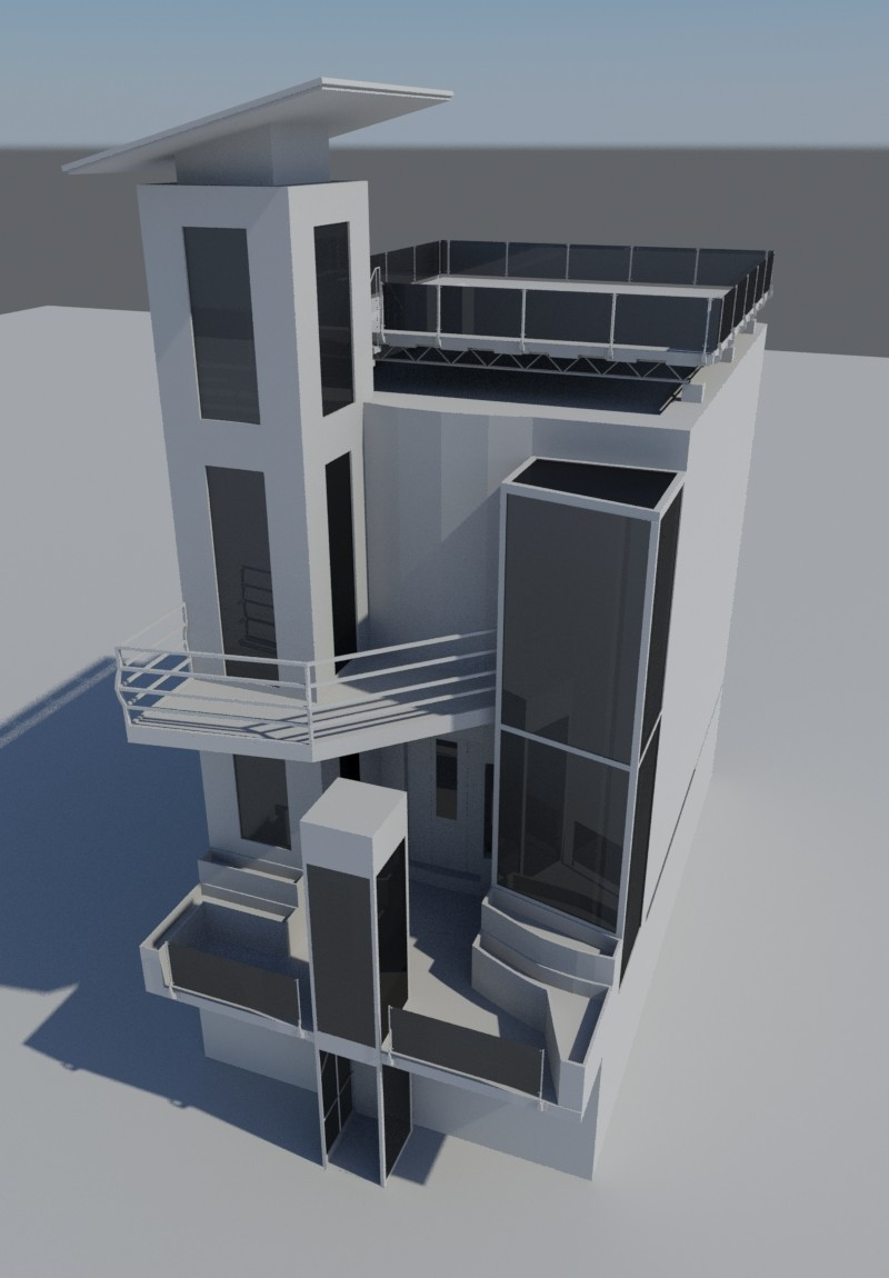 artstation modern and sci fi house richard allen rh artstation com