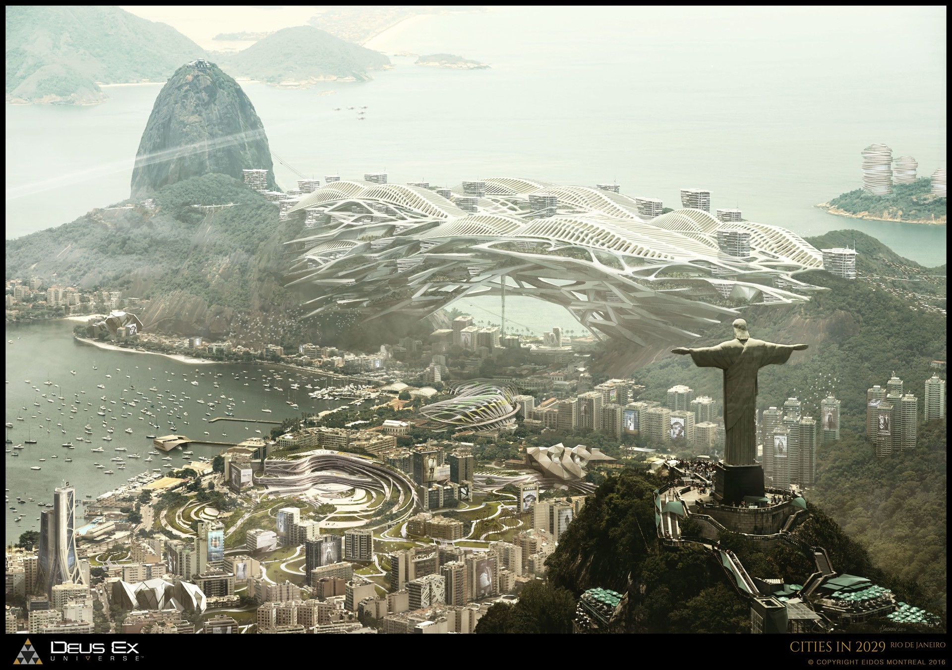 Rio de Janeiro, Concept Cities of 2029 / promo DXMD.