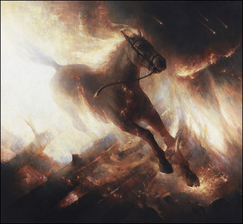 Joakim ericsson the burning horse