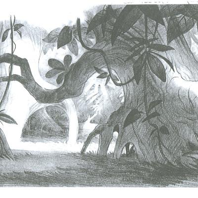 Dermot walshe jungle sketch