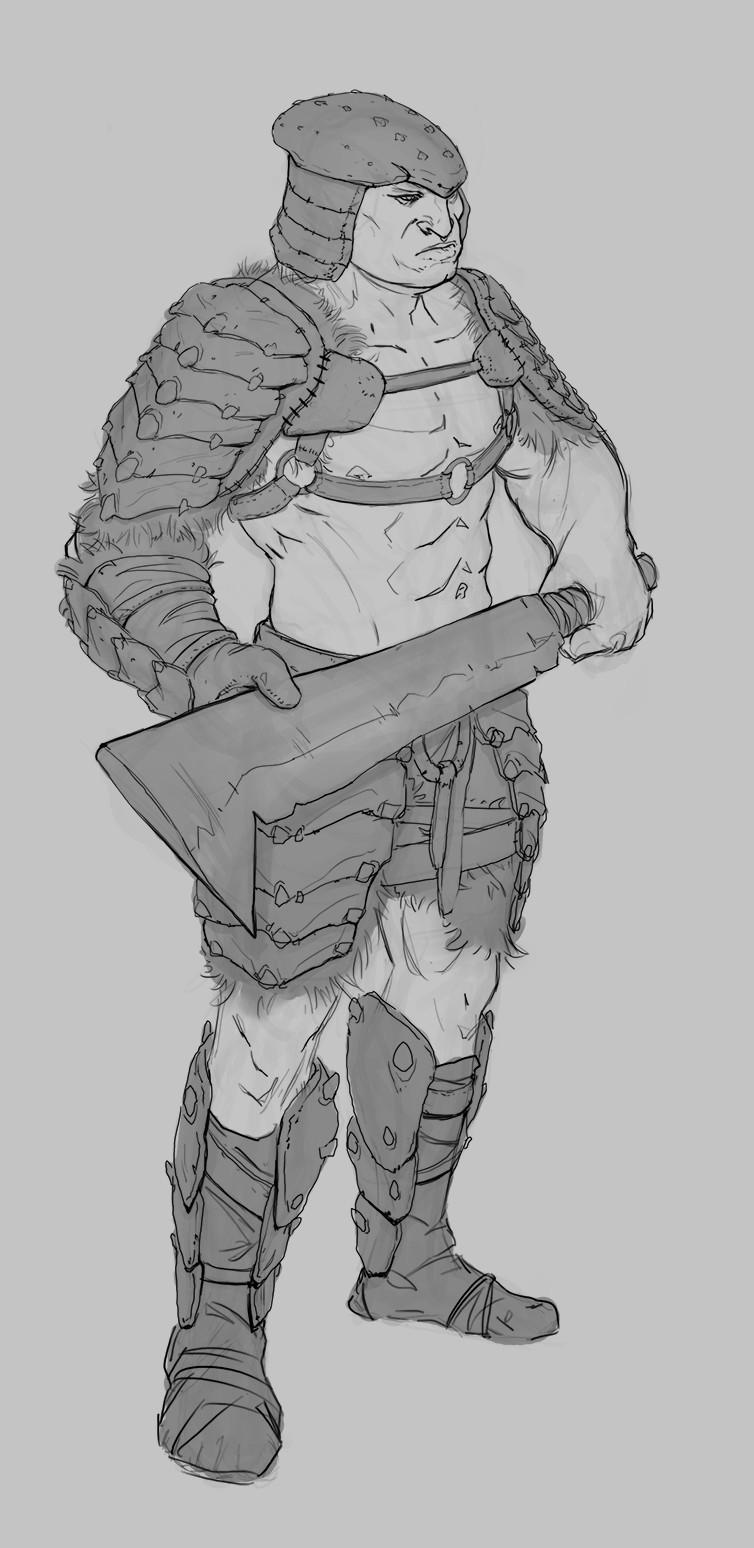 Jared kristoph jones orc armor refinedline